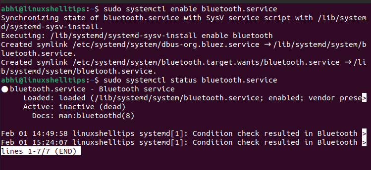 Enable Bluetooth on Ubuntu