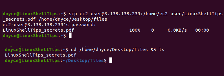 Download Remote Linux Files